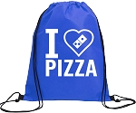 Giveaway Cinch Pack <br />I Love Pizza Design <br /> min. 10pcs.